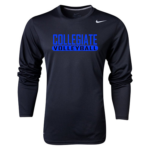 Nike Men's Legend LS Crew Collegiate Volleyball