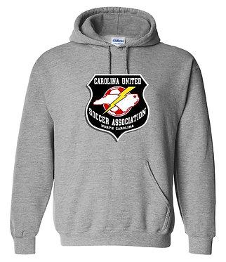 Carolina United Hooded Fan Sweatshirt (Various Colors)