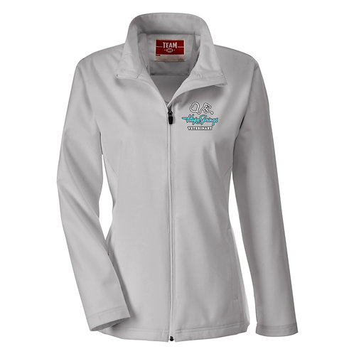 Team365 Women's Leader Soft Shell Jacket Hope Springs (Grey)