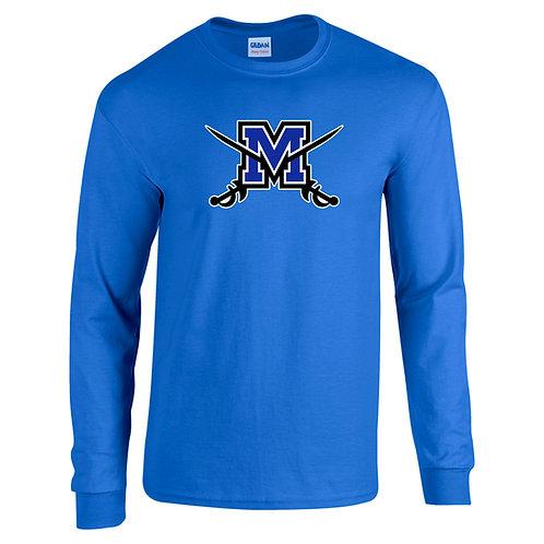 Gildan LS Middletown Soccer Logo Shirt