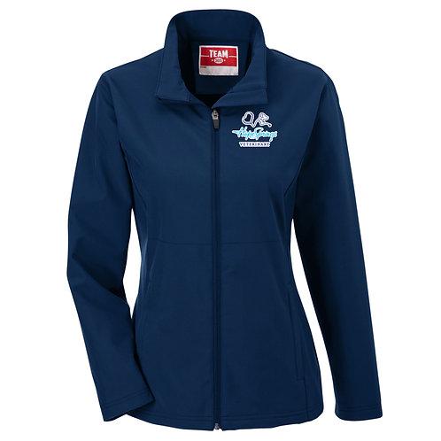 Team365 Women's Leader Soft Shell Jacket Hope Springs (Navy)