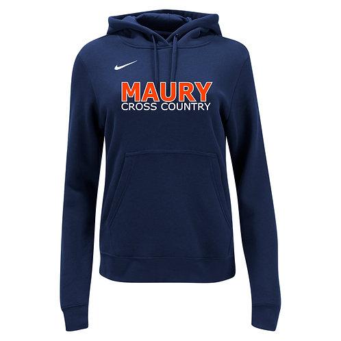 Nike Women's Club Fleece Hoody Maury Cross Country