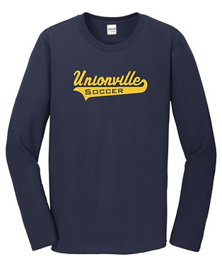 Unionville Long-Sleeve Script T-Shirt (Various Colors)