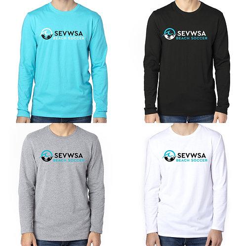 SEVWSA Next Level Men's Tri-Blend LS T-Shirt 100LS