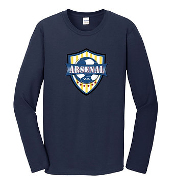 AYSO Arsenal Long-Sleeve Fan T-Shirt (Various Colors)