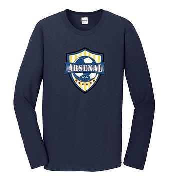 AYSO Arsenal Long-Sleeve Fan T-Shirt (Various Colors)