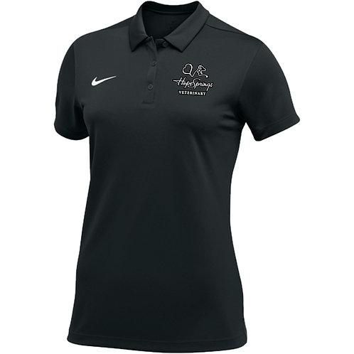 Nike Women's Stock Team Polo Hope Springs (Black)
