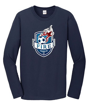 Franklin Fire Long Sleeve Fan T-Shirt (Various Colors)