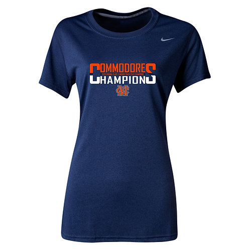 Nike Women's Legend SS Crew Maury Indoor Track State Champs
