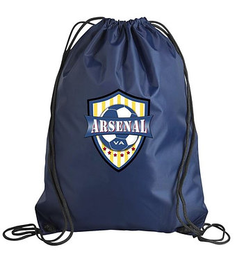 AYSO Arsenal Gym Sack (Various Colors)