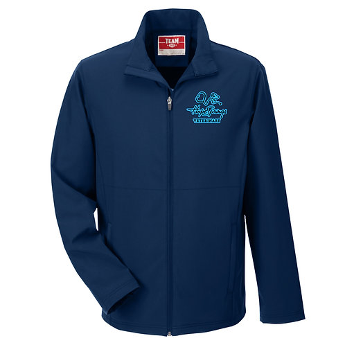 Team365 Men's Leader Soft Shell Jacket Hope Springs (Navy)