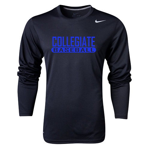 Nike Men's Legend LS Crew Collegiate Baseball