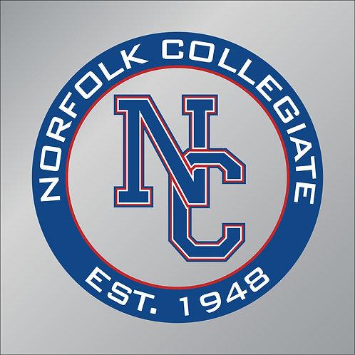 "Norfolk Collegiate Est. 1948 Vinyl Decal 3.5"" Wide"