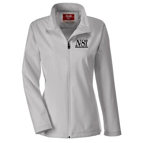 NSI Women's Team365 Leader Soft Shell Jacket (Grey)