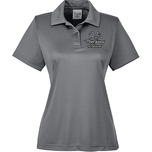 Team 365 Women's Zone Polo Hope Springs (Graphite) TT51W