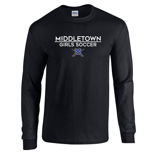 Gildan LS Middletown Girls Soccer Shirt