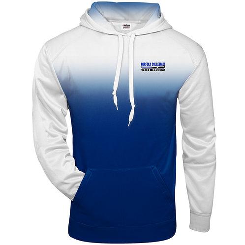 Norfolk Collegiate Field Hockey Badger Adult Ombre Sport Fleece Hoodie