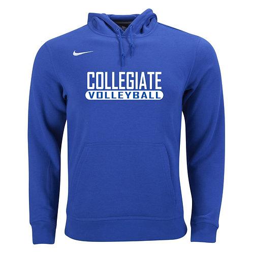 Nike Men's Club Fleece Hoody Collegiate Volleyball