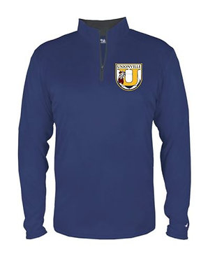 Unionville HS Crest 1/4 Zip Training Top