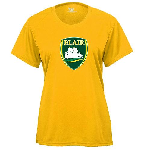 Badger Women's B-Core SS Shirt Blair Logo