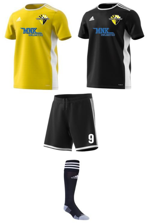 adidas Portsmouth SC 2020 Uniform Package