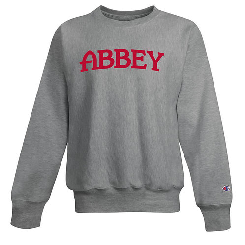 Champion® Belmont Abbey 12 oz. Reverse Weave Crewneck Sweatshirt