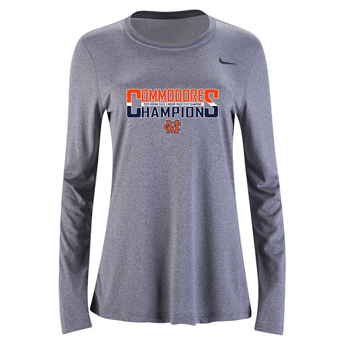 Nike Women's Legend LS Crew Maury Indoor Track State Champs