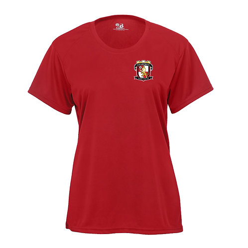 VIP United Women's Wicking SS Poly Shirt