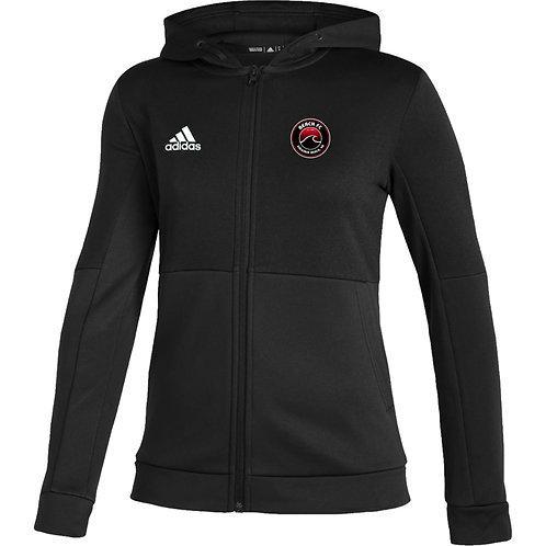 Beach FC Predators adidas WOMEN'S Team Issue Full Zip Hooded Jacket