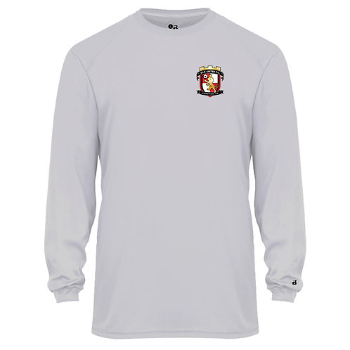 VIP United Wicking LS Poly T-Shirt