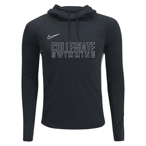 Nike Men's Academy Hoody Collegiate Swimming