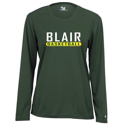 Badger Women's B-Core LS Shirt Blair Basketball