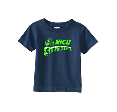 Infant CHKD NICU Superheroes Tee