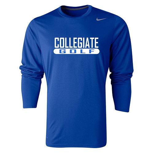 Nike Men's Legend LS Crew Collegiate Golf