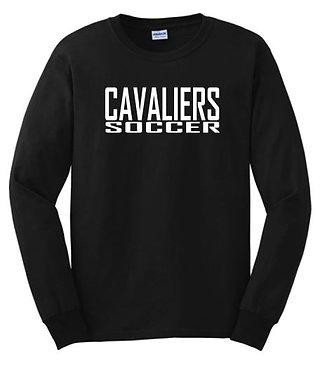 Cavaliers Soccer Long Sleeve Tee