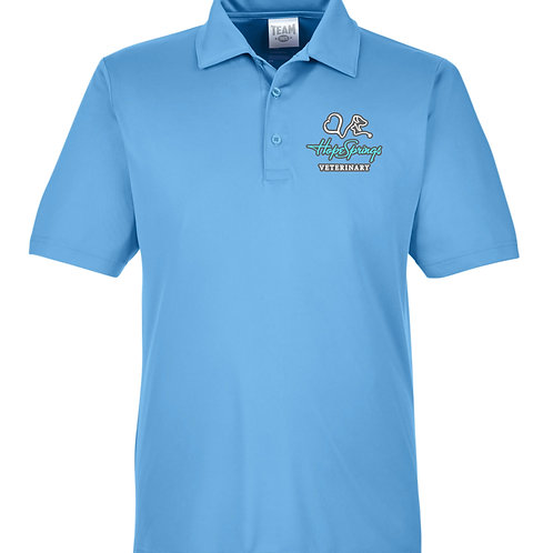 Team 365 Men's Zone Polo Hope Springs (Light Blue) TT51