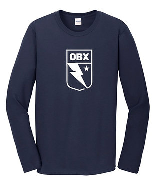 OBX Long Sleeve Big Logo T-Shirt (Various Colors)