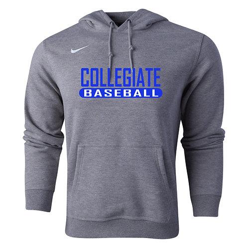 Nike Men's Club Fleece Hoody Collegiate Baseball