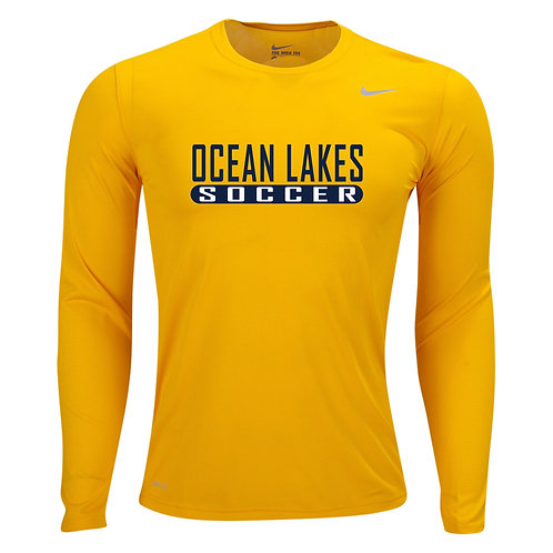 Nike Men's Legend LS Crew Ocean Lakes Soccer