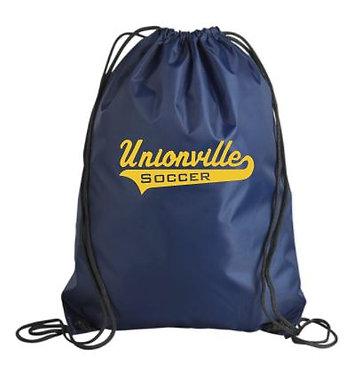 Unionville HS Script Gym Sack (Navy)
