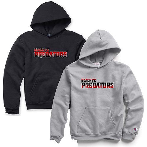 Beach FC Predators Champion® Youth 9 oz. Double Dry Eco Pullover Hoodie S790