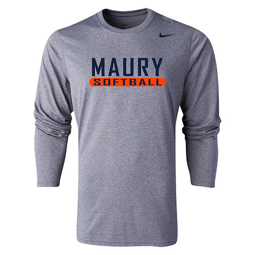Nike Men's Legend LS Crew Maury Softball