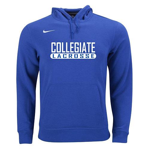 Nike Men's Club Fleece Hoody Collegiate Lacrosse