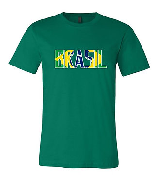 Brasil World Cup Country Tee (Green)