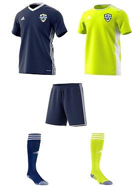 Adidas AYSO Arsenal Uniform Package