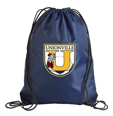 Unionville HS Crest Gym Sack (Navy)