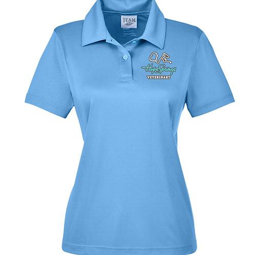 Team 365 Women's Zone Polo Hope Springs (Light Blue) TT51W