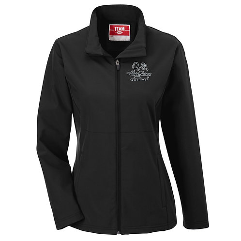 Team365 Women's Leader Soft Shell Jacket Hope Springs (Black)