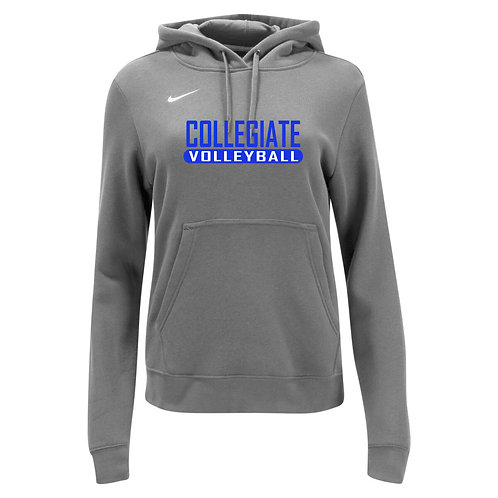 Nike Women's Club Fleece Hoody Collegiate Volleyball