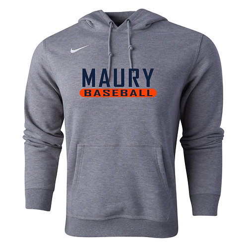Nike Men's Club Fleece Hoody Maury Baseball